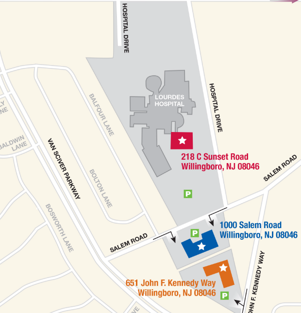 Willingboro Cooper Campus Map