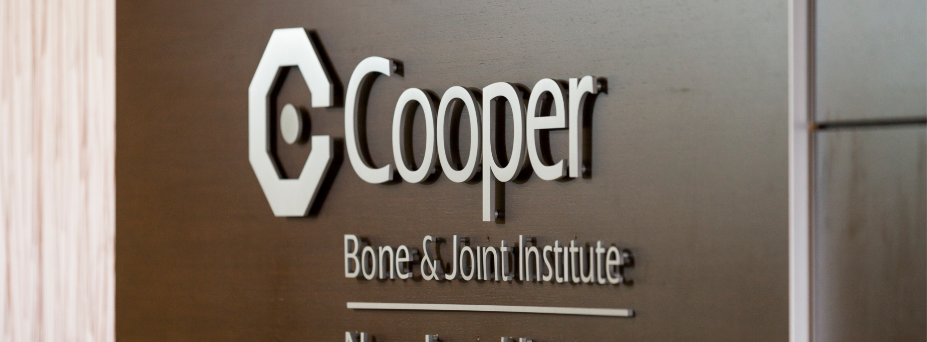 Cooper Bone and Joint Wall Signage
