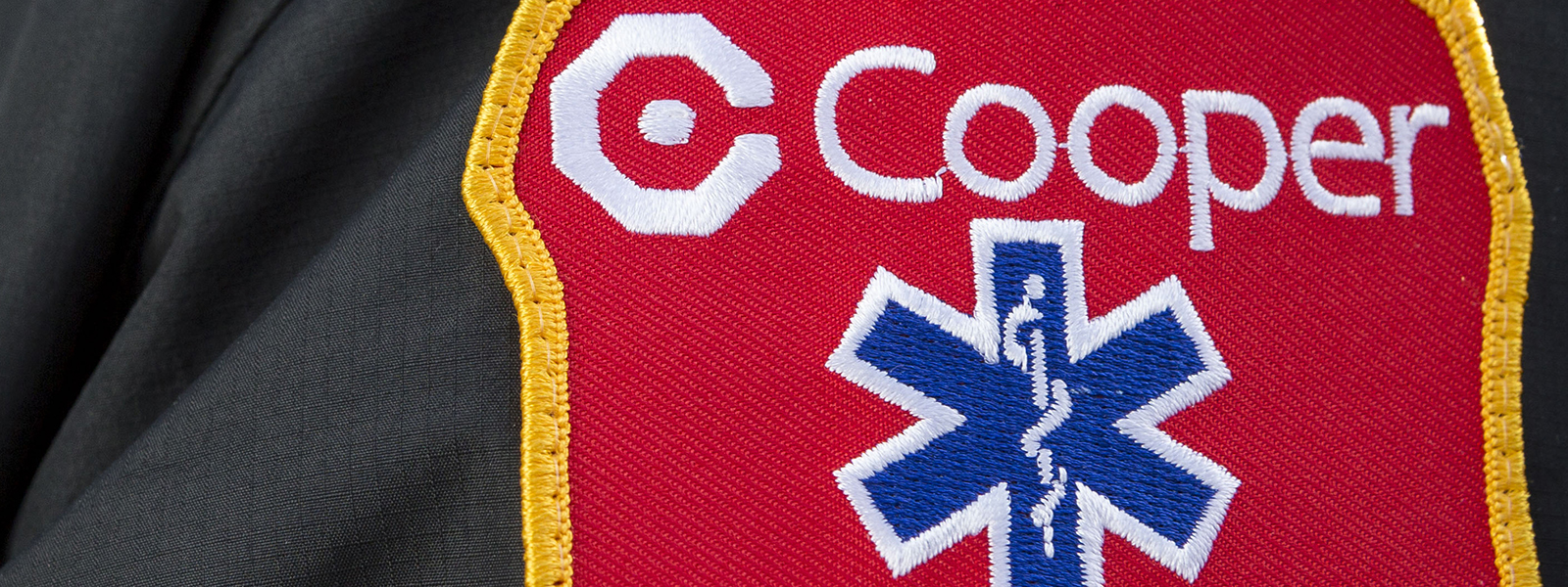 cooper logo patch sleeve generic