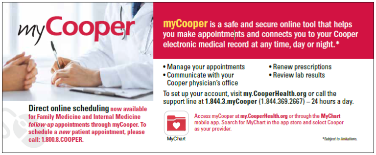 direct online scheduling now available for family medicine and