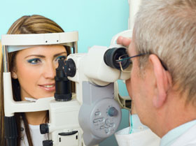 4c91174da76 Cooper teaching affiliate ophthalmologists from Soll Eye provide examination  and total care of the eyes