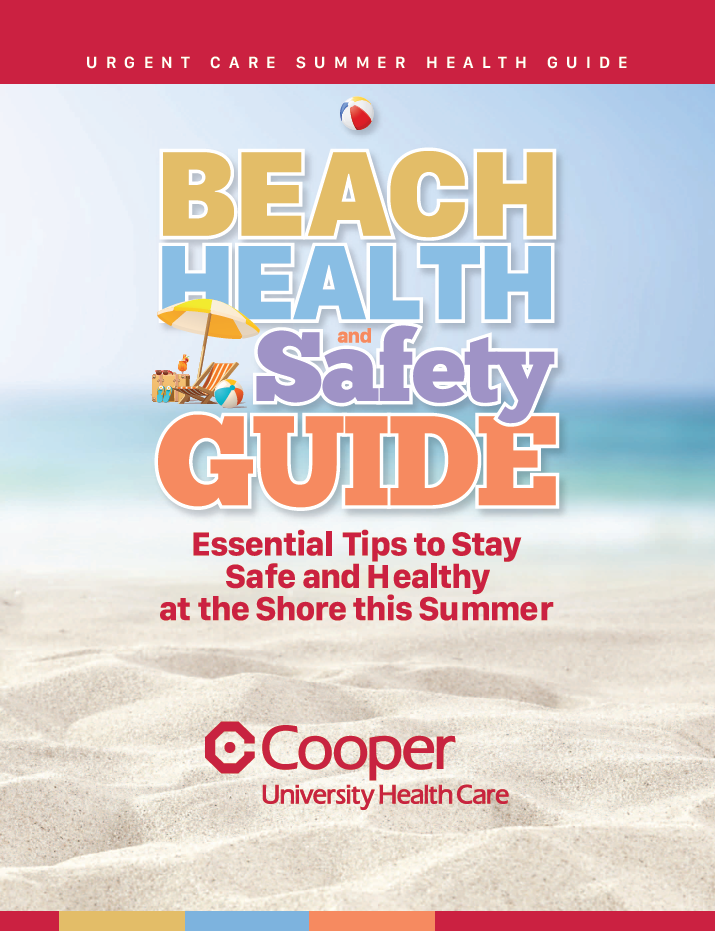 2019 Urgent Care Summer Health Guide Cover Graphic