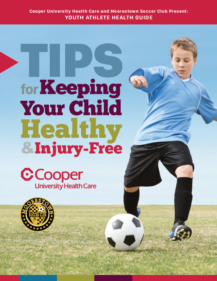Free Youth Athlete Health Guide cover photo
