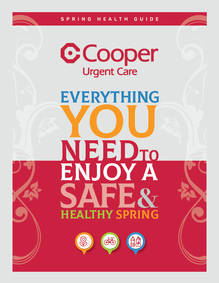 2019 Urgent Care Spring Health Guide Cover Graphic