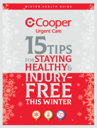 2019 Urgent Care Winter Health Guide Cover Graphic