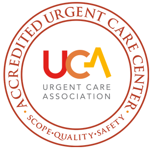 UCA accreditation logo awarded to Cooper Urgent Care Centers
