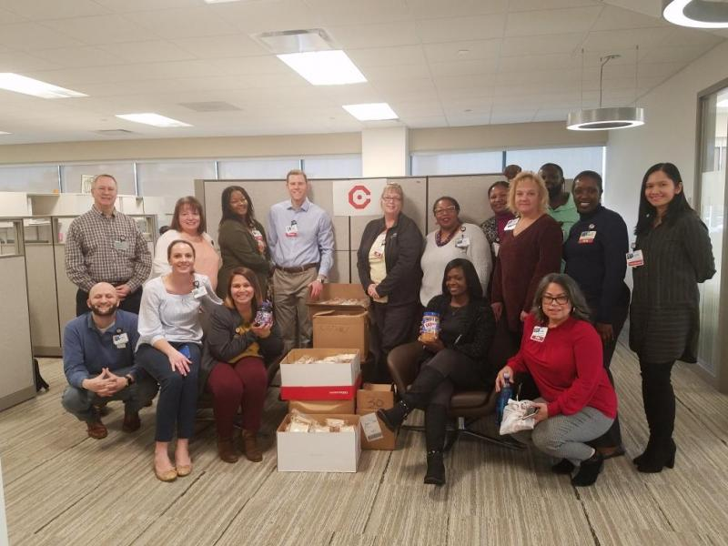 Population Health Donates 371 Sandwiches to Cathedral Kitchen in Camden