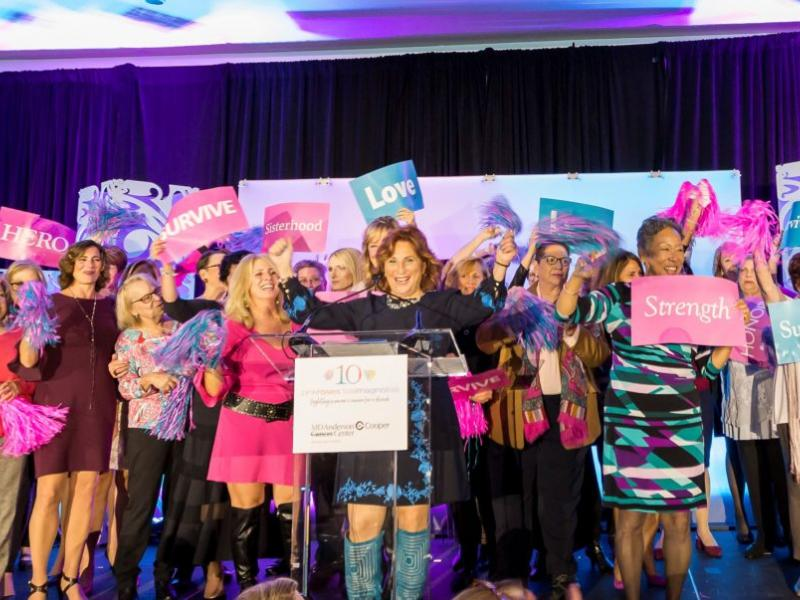 The Cooper Foundation's 10th Annual Pink Roses Teal Magnolias Brunch Raises a Record-Breaking $1 Million for Breast and Gynecologic Cancer Care and Research at MD Anderson Cancer Center at Cooper
