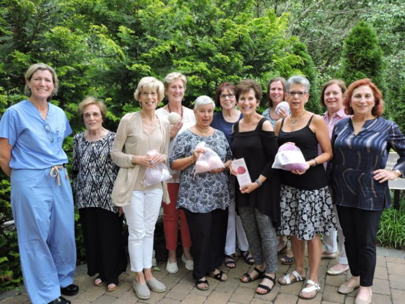 Breast Cancer Patients at MD Anderson Cancer Center at Cooper Are Benefiting From the Generosity of Local Knitters