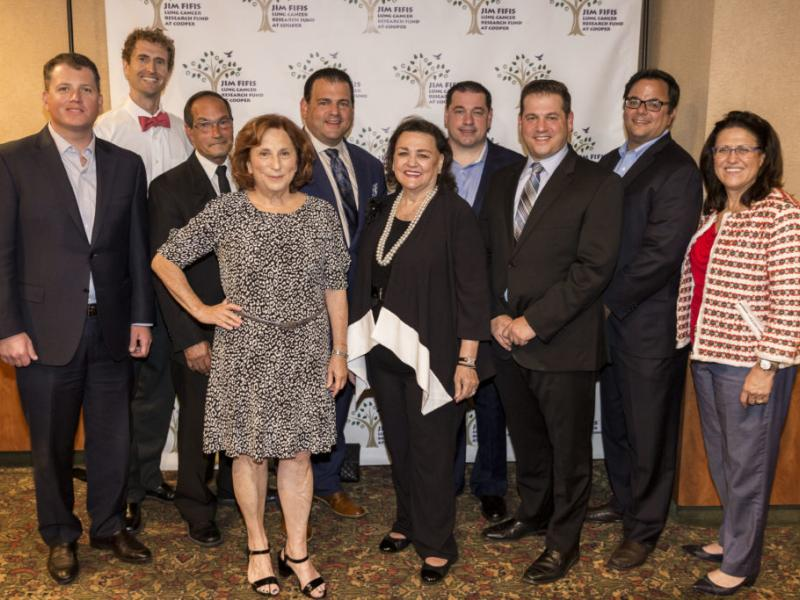 Ninth Annual Jim Fifis Lung Cancer Research Fund Benefit Dinner Raises $125,000 for MD Anderson Cancer Center at Cooper