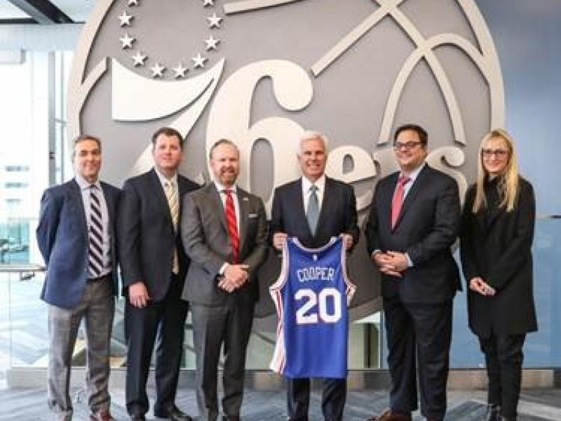 Philadelphia 76ers Announce Community Partnership With Cooper University Health Care