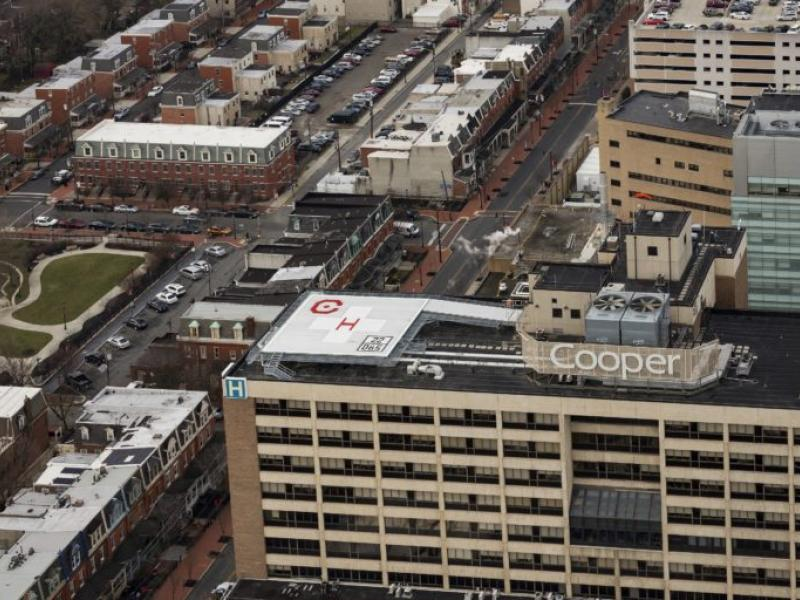 Cooper Reopens Helipad With New Structural and Safety Features
