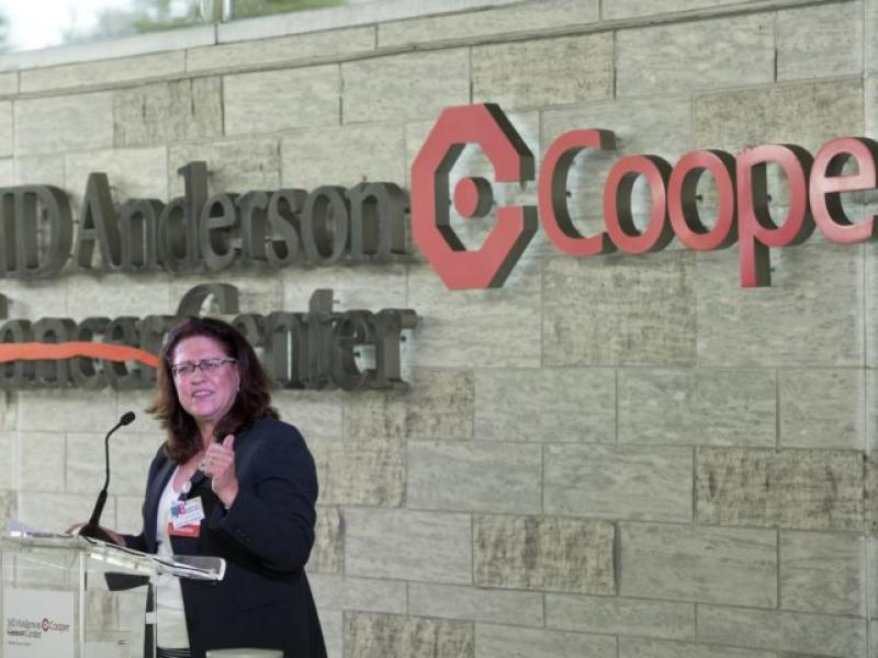 MD Anderson Cancer Center at Cooper Celebrates Five-Year Anniversary