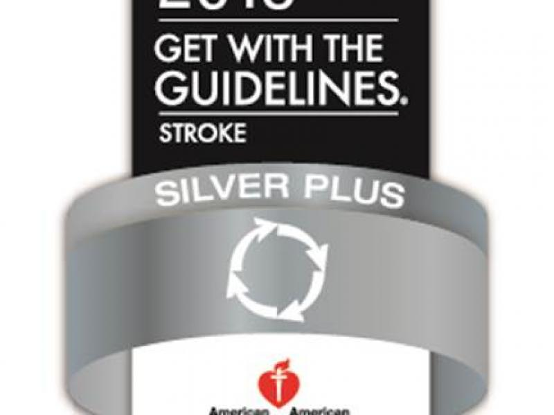 Cooper University Health Care Receives Get With The Guidelines-Stroke Silver Plus Quality Achievement Award With Target: Stroke Honor Roll
