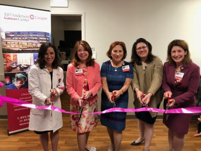 New Outpatient Diagnostic Mammography Unit Opens at MD Anderson Cancer Center at Cooper