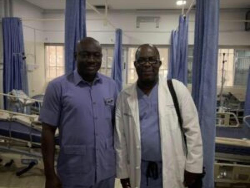 Cooper Doctor Heads Mission to Establish Much Needed Pediatric ICUs in Nigeria