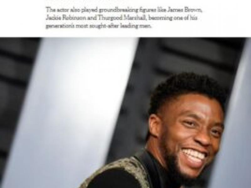 Commentary: Dr. McClane Discusses the Impact of Chadwick Boseman's Passing