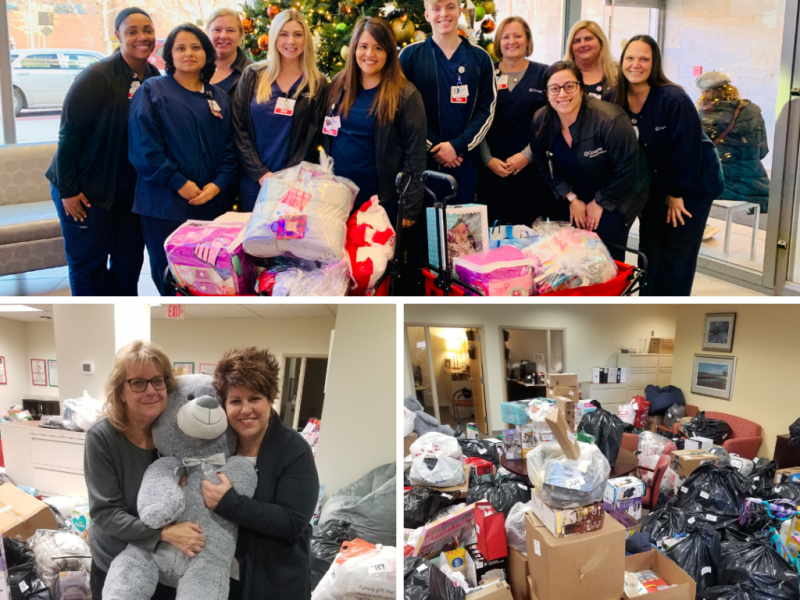 The Cooper Foundation and Cooper University Health Care Donate Thousands  of Gifts to Local Families in Need